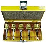 日立工機 インパクトドライバー用ハイスホールソー設備工事用セットB(φ25、φ28、φ30、φ32、φ35×各1本) 0032-0100