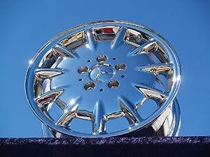 Mercedes-Benz E320: Set of 4 genuine factory 16inch chrome wheels