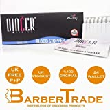 24 x (FULL BOX) BARBER SHAVING ASTRINGENT / STYPTIC / SEPTIC AFTER SHAVE CUT BLOOD STOPPER ALUM MATCH STICK WALLETS (480 STICKS) ***FREE UK DELIVERY***
