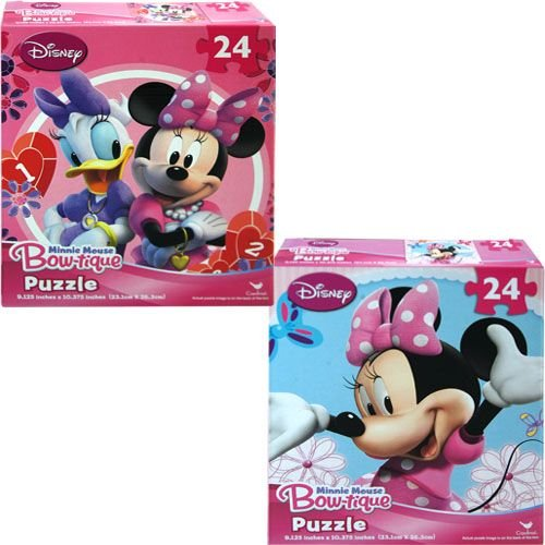 Minnie Mouse Bowtique 24 Piece Puzzle - Assorted Styles - 1