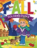 Fall Coloring Pages: Jumbo Coloring Book For Kids - Seasons Of The Year