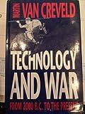Technology and War (008041317X) by Creveld, Martin Van
