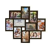 Smartfox Bilderrahmen Fotorahmen Collage für 10 Bilder im...