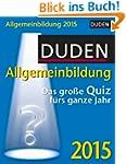 Duden Allgemeinbildung 2015: Das gro�...