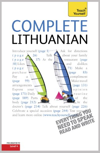 Teach Yourself Complete Lithuanian (TY Complete Courses)