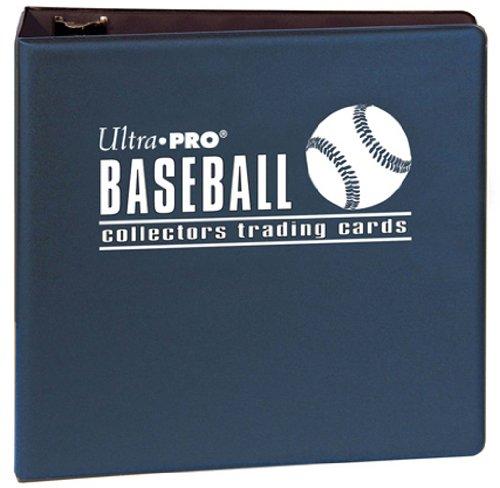 Ultra Pro 3 Blue Baseball Album