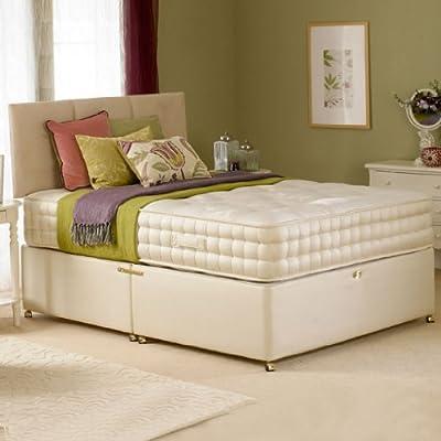 Deluxe Beds Ltd 2000 Pocket Spring 5Ft Kingsize Bed & Mattress & Hb