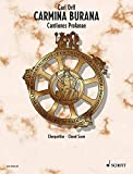 CARMINA BURANA CHORAL SCORE (MEN'S AND WOMEN'S PARTS BOTH INCLUDED)