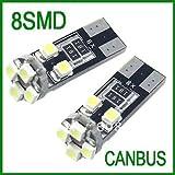 Lot de 4 ampoule LED T10 W5W anti erreur canbus ODB d'occasion  Livré partout en France