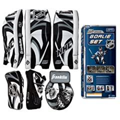 Buy Franklin Sports NHL Comp 100 Street Hockey Goalie Set Junior Small Medium by Franklin