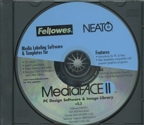 Fellowes Neato Media Face II Download http://www.dealnay.com/260870/mediaface-version-2.3-pc-design-software-image-library-media-labeling-software-templates-by-fellowneato.html