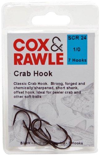 Cox Rawle &-Granchio, colore: nero, taglia 1/0
