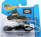 Hot Wheels 2014 HW City BATMAN THE BAT-POD 64/250 (THE DARK KNIGHT)