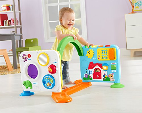 Toys For Learning To Crawl : Fisher price laugh learn crawl around learning center