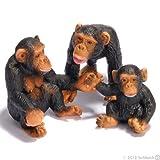 Schleich Chimpanzee Family - 3 figures