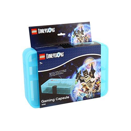 Lego RCL GC BL Dimensions Gaming Capsule, Plastica, Azzurro, 27x18x7 cm
