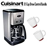 Cuisinart DCC-1200 12-Cup Brew Central Coffeemaker With Two Bistro Wide Bod ....