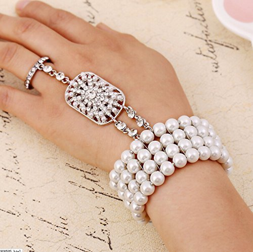 Bridal-jewelry-popular-Fashion-Christmas-gift-The-Great-Gatsby-Pearl-Bridal-Bracelet-with-bangle-Set-for-Women