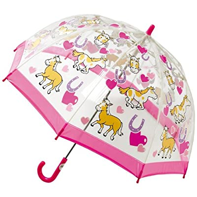 Bugzz Clear PVC Umbrella (Pony)