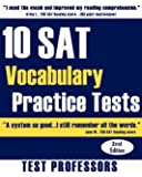 10 SAT Vocabulary Practice Tests