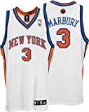 Stephon Marbury White adidas NBA Authentic New York Knicks Jersey