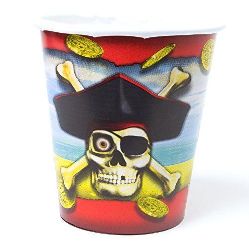 Paper Pirate Bounty Cups