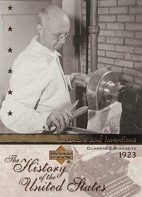 Clarence Birdseye, Frozen Food Inventor