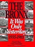 The Bronx: It Was Only Yesterday, 1935-1965 (Life in The Bronx Series) (0941980332) by Lloyd Ultan