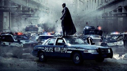 Batman Dark Knight Heath Ledger, stampa su tela incorniciata del film
