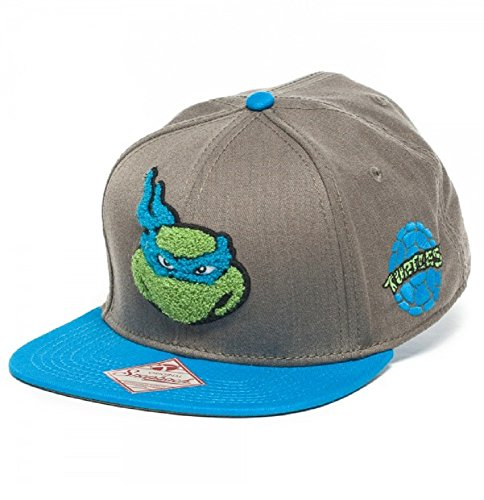 Fuzzy Leonardo Teenage Mutant Ninja Turtles Snapback