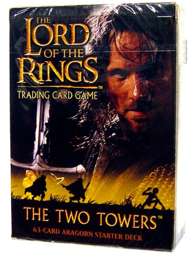 Lord of the Rings Card Game Theme Starter Deck Two Towers Aragorn