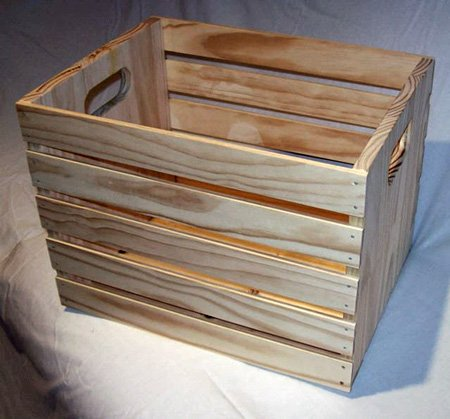 Custom Oak WOODEN DOG CRATE wood crates - Pet beds and Dog beds