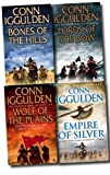 Conn Iggulden Conn Iggulden 4 Books Collection Set (Empire of Silver, Bones of the Hills: Genghis Khan 3,Wolf of the Plains (Conqueror 1) , Lords of the Bow (Conqueror 2))