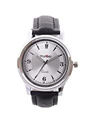 Turbo Youth Analogue White Dial Men's Watch - R102-001S