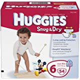Huggies Snug and Dry Diapers, Size 6, Big Pack, 54 Count