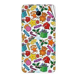 Garmor Designer Mobile Skin Sticker For Intex Aqua Y2 IPS - Mobile Sticker
