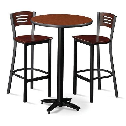 "KFI Bar Height 30"" Table and Two Chair Set"