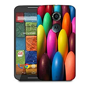 Snoogg Colorful Balls Designer Protective Phone Back Case Cover For Moto X 2nd Generation