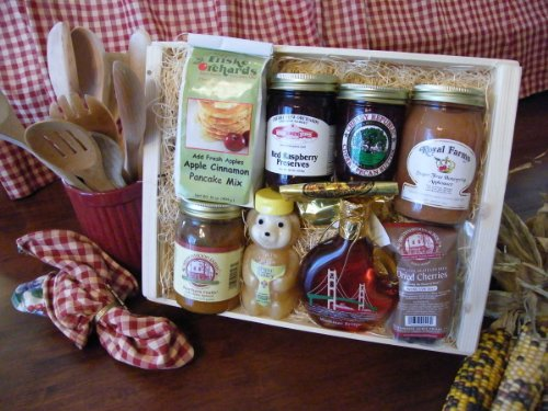 Michigan Gift Basket: Mighty Mackinac Brunch