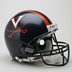 Victory Collectibles 31471 Rfa C Virginia - Cavaliers Full Size Authentic Helmet by... by Victory Collectibles