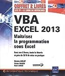 VBA EXCEL 2013 - Coffret de 2 livres...