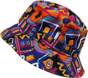 KBETHOS Aztec / Navajo Bucket Hat Cap - BLACK