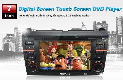 Custron 2004-2009 Mazda 3 DVD-Player + GPS Navigationssystem