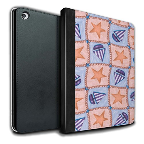 stuff4-pu-leather-book-cover-case-for-apple-ipad-air-2-tablets-peach-purple-design-boat-stars-patter