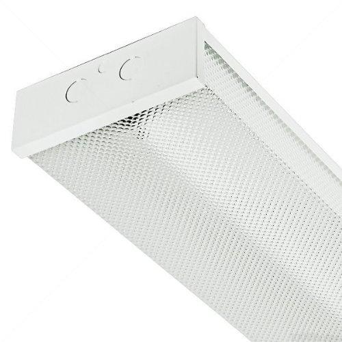 3583 Lumens - 103 Lumens Per Watt - 30 Watt - Led - Dimmable - 4 Ft. Wraparound - 4000K - Cool White - 120-277V - White Finish - Maxlite Lsu4806Su30Dv40