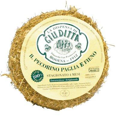 Italian Pecorino Paglia e Fieno cheese 3.5-Pound