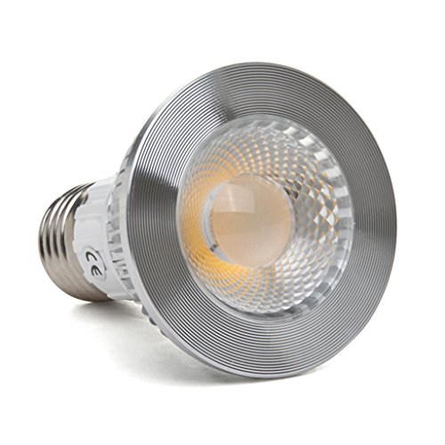 Golden Sun Ul-Listed Dimmable 5-Watt Par20 Led Cob Spot Bulb For Recessed Or Track Lights, 38 Degree, 50-Watt Equivalent, 95 Lm/W, Ac 120V, E27 Medium Base, 2700K Warm White