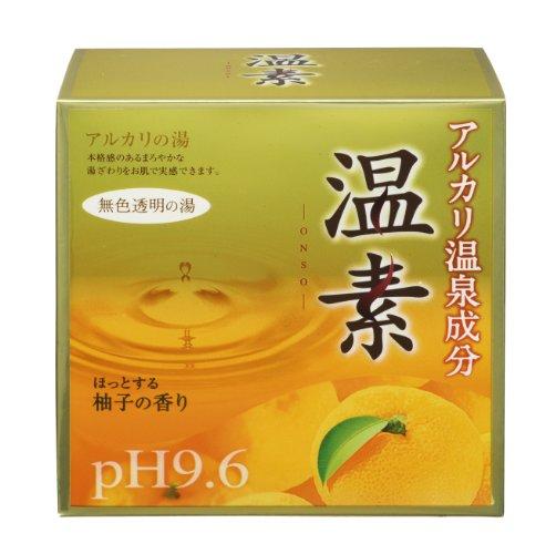 アース 温素 柚子の香り 30g×15包