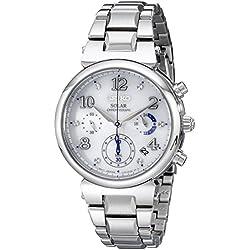 Seiko Women's SSC863 Analog Display Quartz Silver Watch