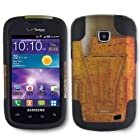 Galaxy Proclaim Case, SOGA® Hybrid Dual Layer Hard Case Gold Mug Alcohol Beverage Beer Cold Drink Cup With Black Silicone Skin Phone Cover and Y-Stand Kickstand For Samsung Galaxy Proclaim 720C SCH-S720C / illusion i110 (Straight Talk) / (Verizon) [SWB149]